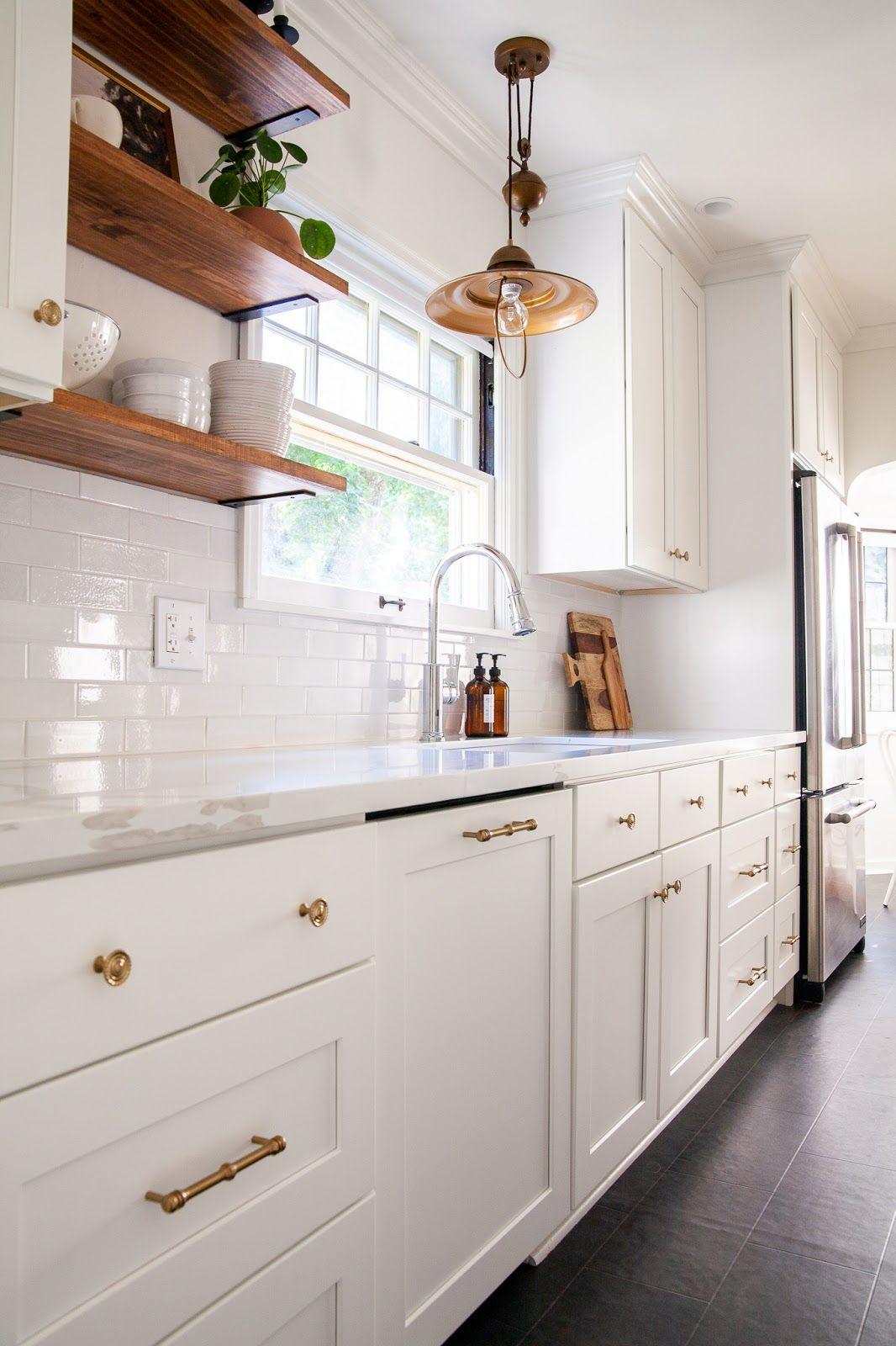 Modern Traditional Diy Kitchen Reno Reveal Affordable Kitchen Cabinets Kitchen Decor Inspiration Diy Kitchen Renovation