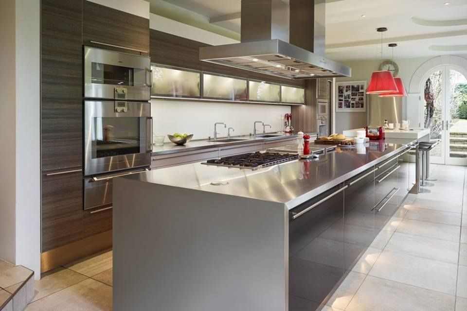 This #Poggenpohl kitchen designed by Jon Andrews at Poggenpohl UK ...