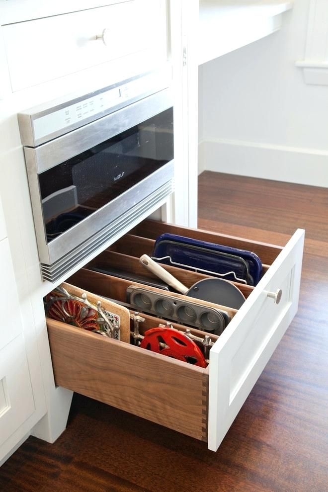 Kitchen Drawer Organizer Ideas Dividers Organizers Deep Cabinet And Organizatio If We Ever Build Again In