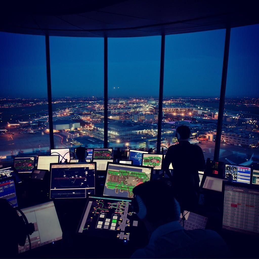 Nats On Air Traffic Control Heathrow Airport Aviation