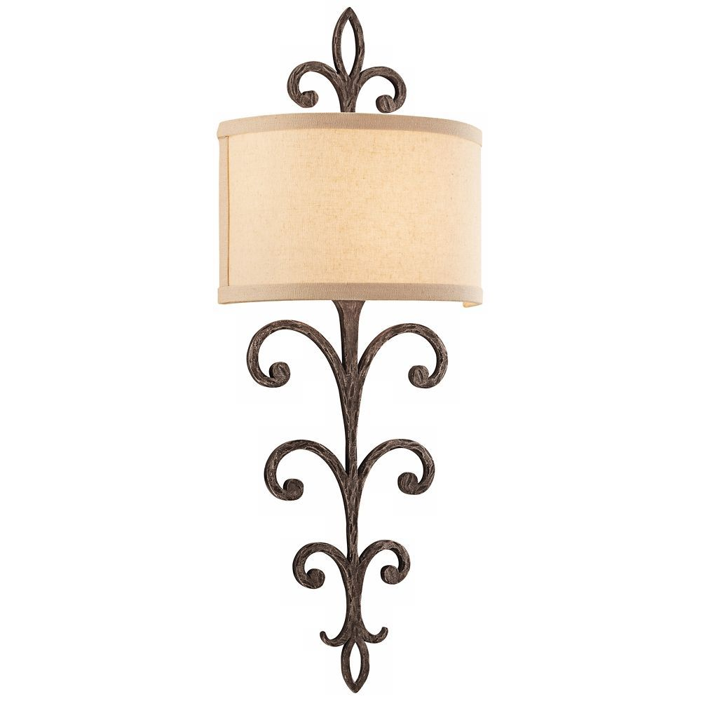 crawford 11 wide cottage bronze wall sconce style w4488 rh pinterest com