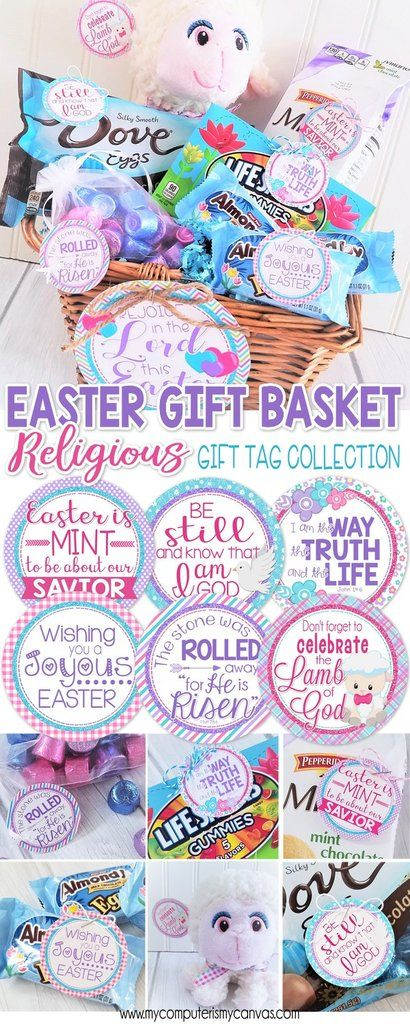 Religious easter basket stuffers easter gift tags easter card religious easter basket stuffers easter gift tags easter card christian easter printables for negle Gallery