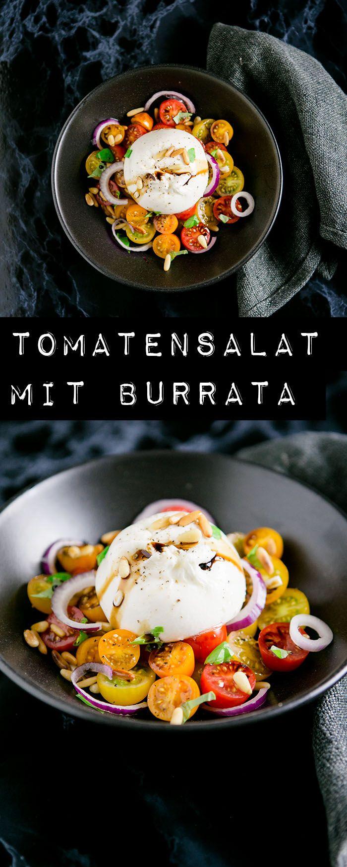Photo of Tomatensalat mit Burrata – DAS Sommeressen – Kuechenchaotin
