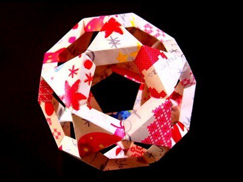 how to make a paper origami soccer ball