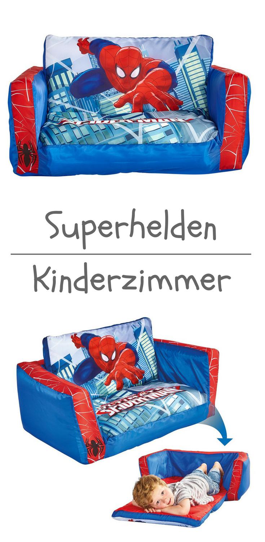 Spiderman Sofa für das Kinderzimmer kleiner Superhelden ...