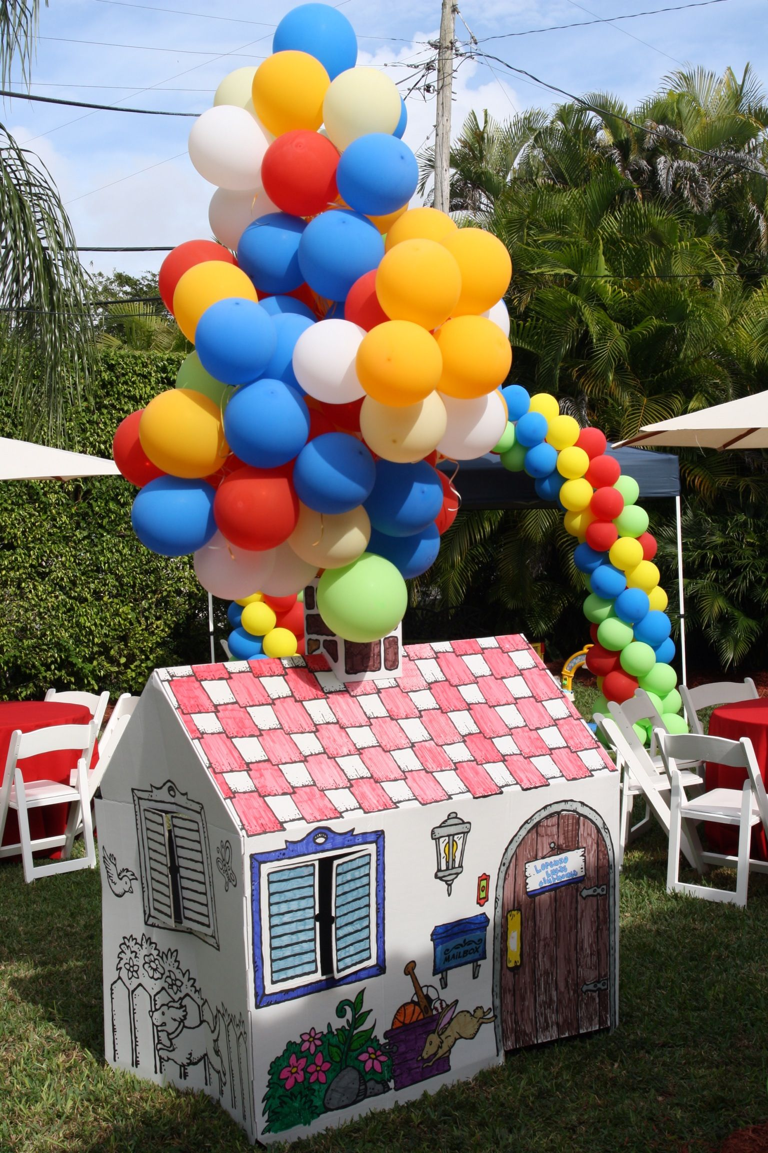 Childrenu0027s playhouse inspired by the movie up