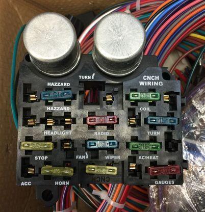 12 circuit street hot rat rod custom universal color wiring wire kit rh pinterest co uk