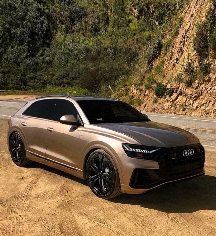 Audi Q8 Champagne Gold Lux Cars Luxury Suv Audi