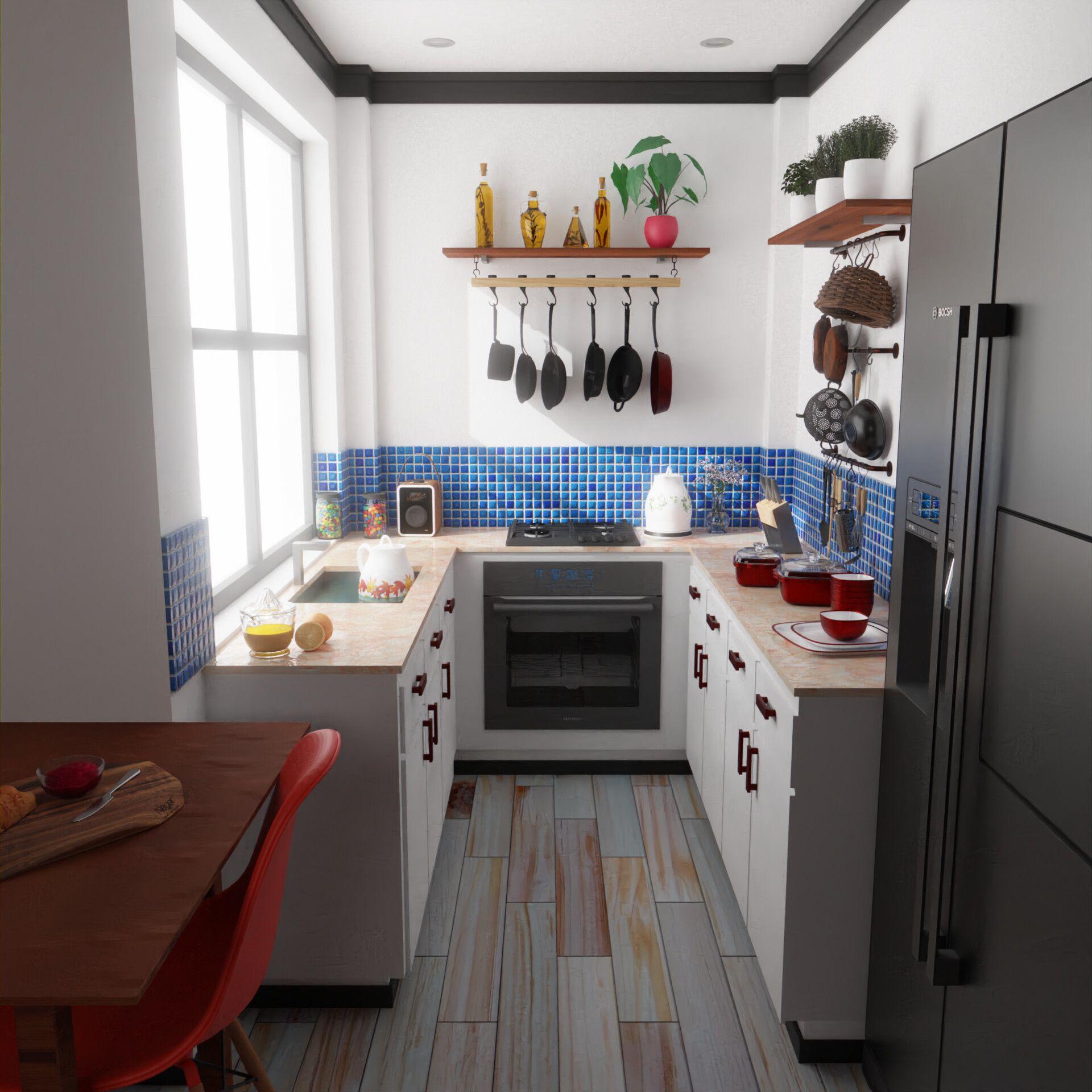 Cozy Rustic Kitchen 20002000 Check out desigedecors.com ...