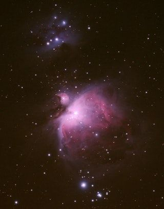 My dad was so chuffed with the reaction his Andromeda pic got he sent me another to share, Here's the Orion Nebula! : Astronomy