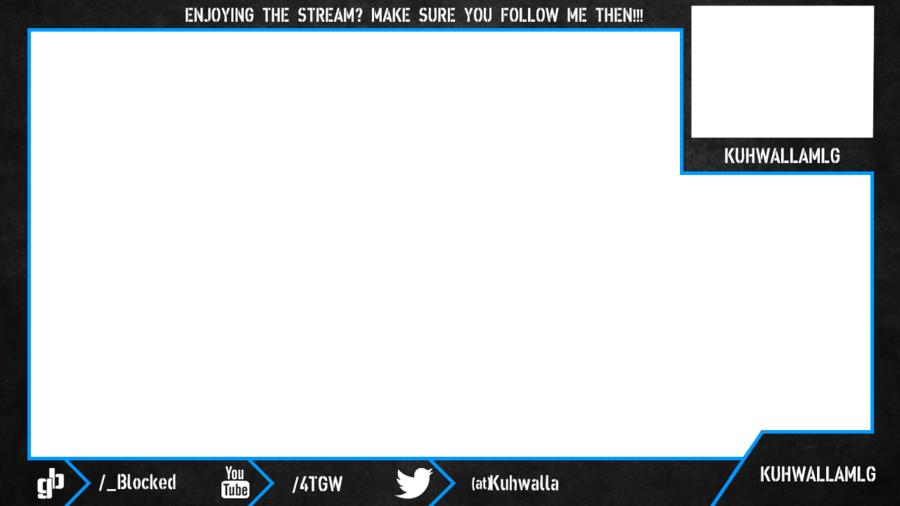 Webcam overlay twitch gaming pinterest for Twitch overlay ideas