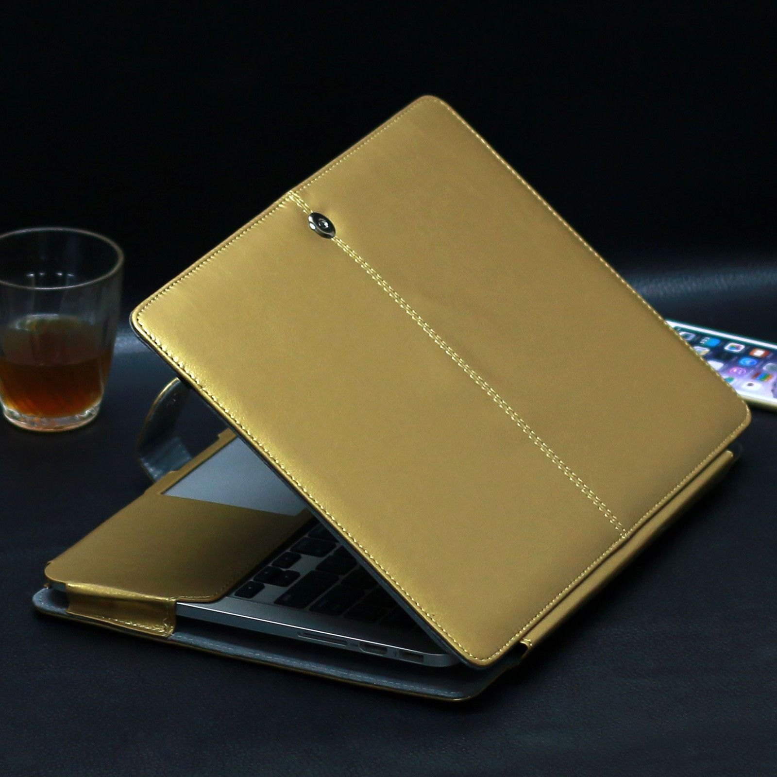 pu leather laptop sleeve bag case cover for macbook pro 13 air 13 rh pinterest com