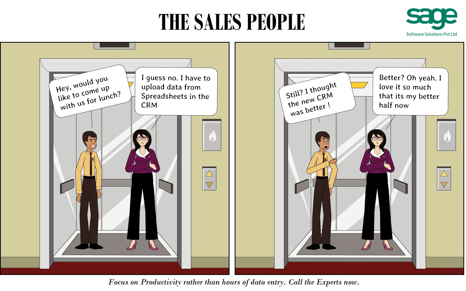 Is your sales team spending hours just updating CRM from