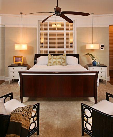 this master bedroom is serene and restful dark woods add rh pinterest com