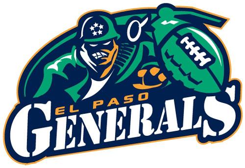 El Paso Generals, defunct arena football team
