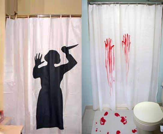 Weird And Wonderful Shower Curtains Halloween Halloween Horror