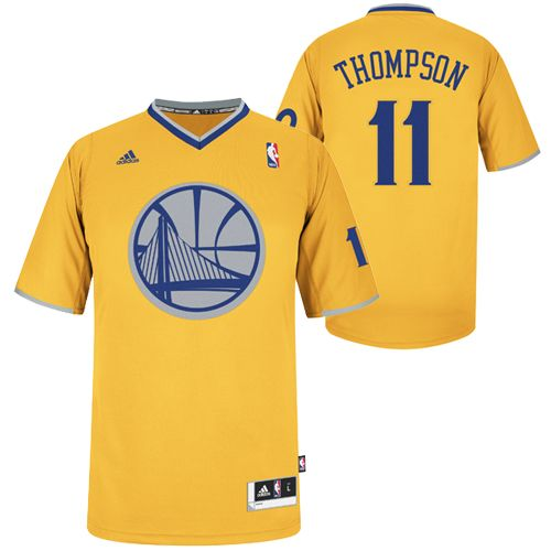 big sale d9257 661ea Golden State Warriors adidas Klay Thompson 2013 Big Logo ...