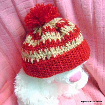 Free crochet pattern: Heart beat beanie | CROCHET | Pinterest | Hüte ...