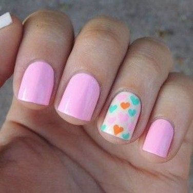 elegant nail ideas for valentine's day30  nail art