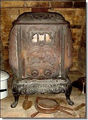 acme ivy wood burning stove for the home wood stove cooking rh pinterest com