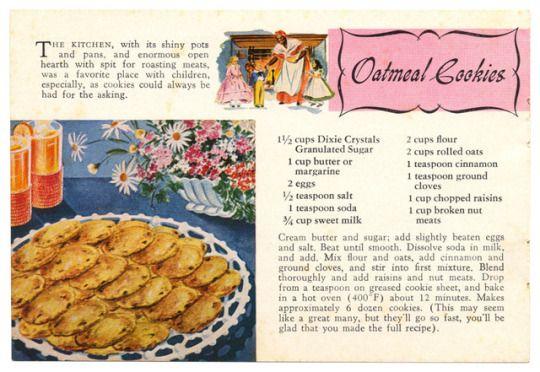 a dozen dixie recipes made with dixie crystals sugar oatmeal rh pinterest com