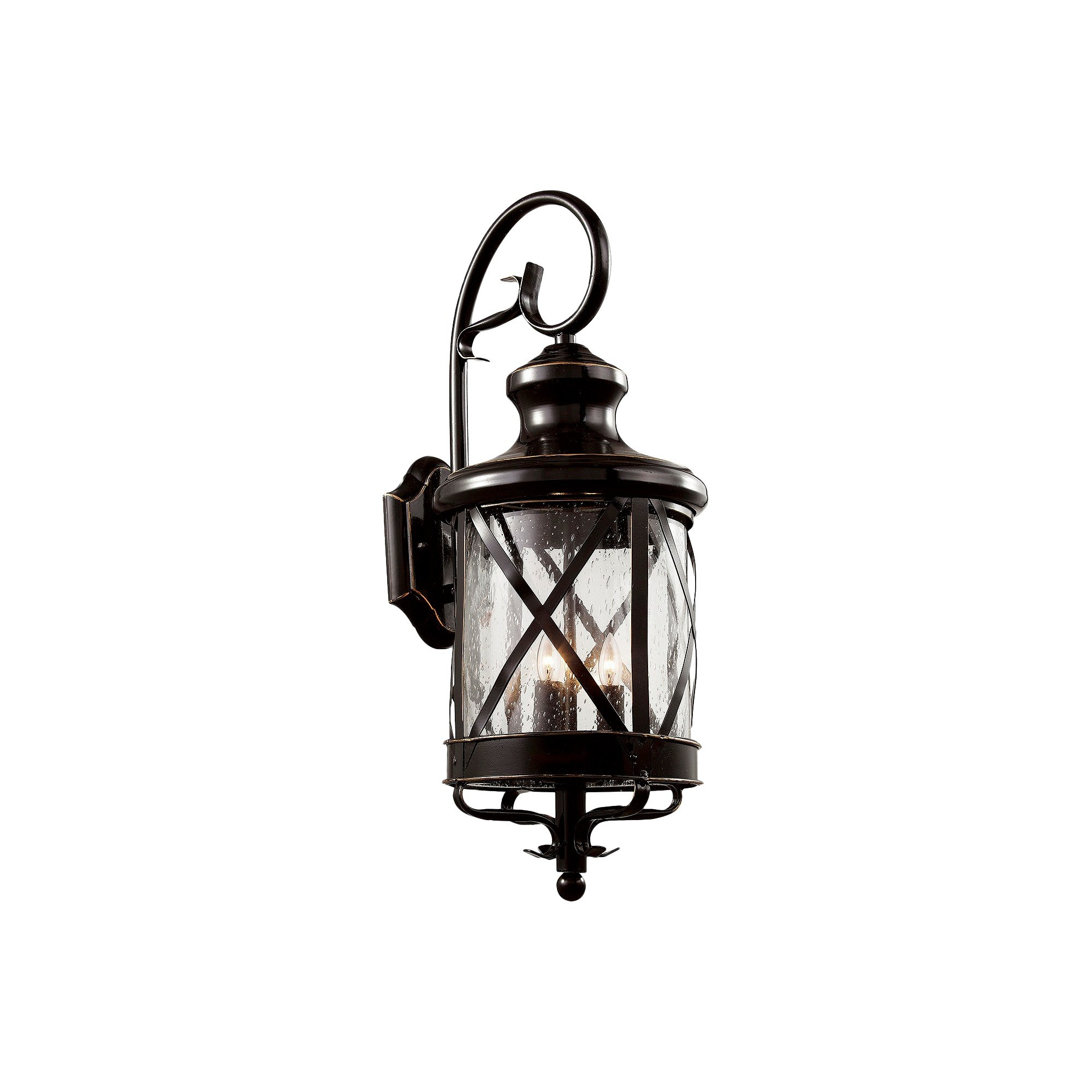 Tennessee outdoor wall light in bronze bronze brown outdoor