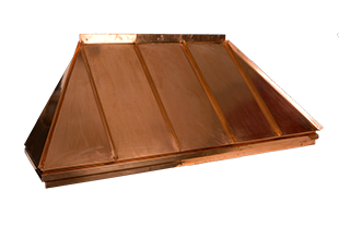 Copper Awnings | Copper Door and Roof Awnings | Copper ...
