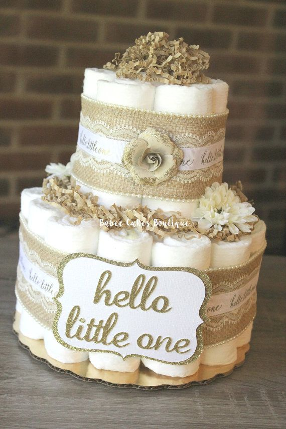 shabby chic bridal shower cakes%0A   Tier Cake  Boy Shower  Table Centerpieces  Both Sides  Diaper Cakes   Mantles  Little Ones  Diapers  The Front