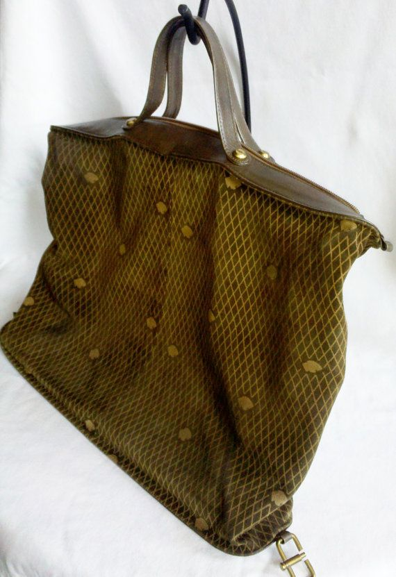 Vintage Designer Handbag Leather Suede By Bagheera Thecityloft 225 00 Designs Handbags