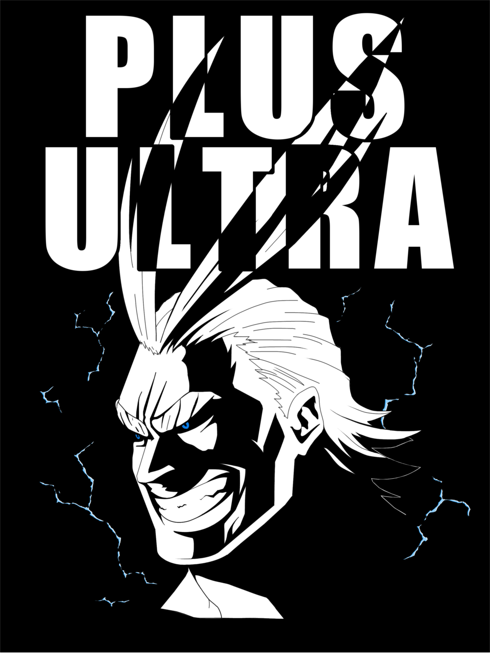 All Might Plus Ultra Hero My Hero Academia My Hero