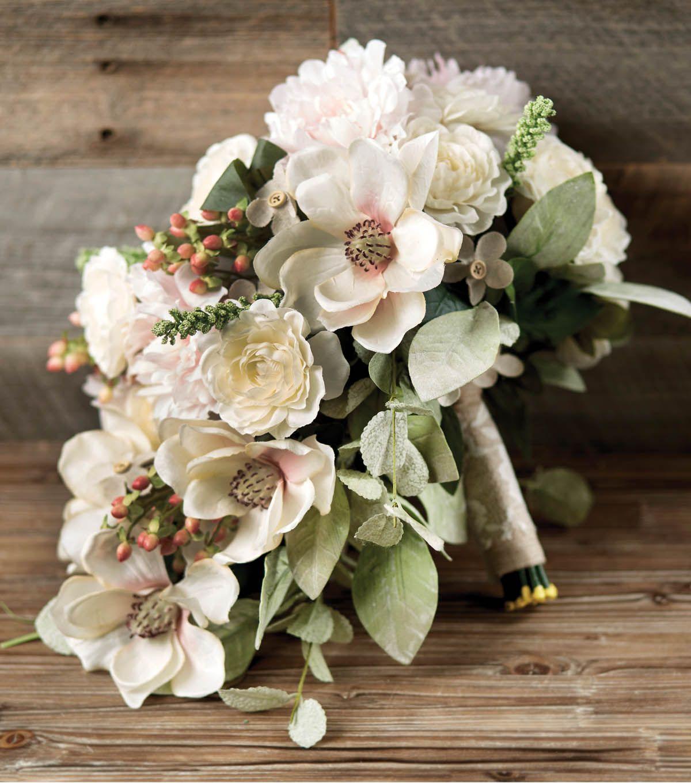 How To Make A Wedding Bridal Bouquet Crafts Pinterest Bridal