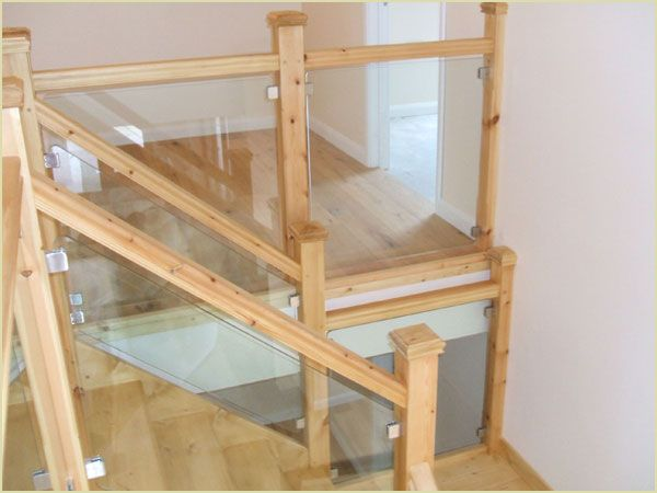 Glass Stairway Parts | Pear Stairs Glass Staircase (Glass Staircase)