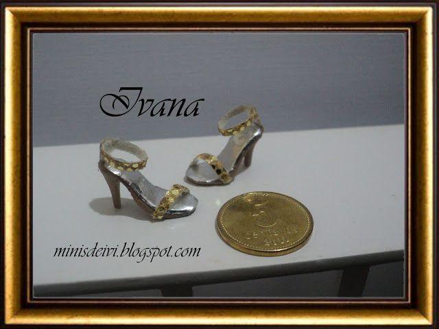 "Mianiature shoes ""Colección Gold"""
