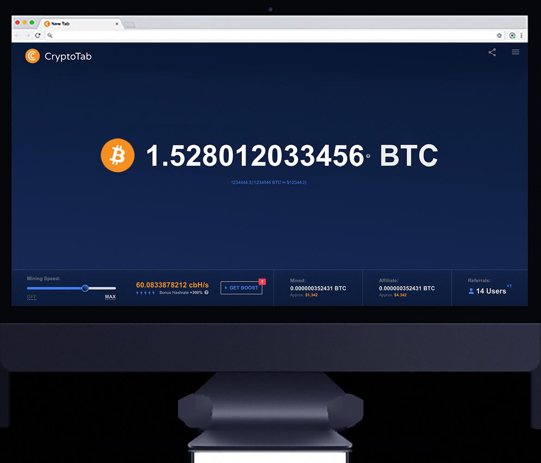 CryptoTab Browser - Bitcoin Madenciliğinin Kolay Yolu