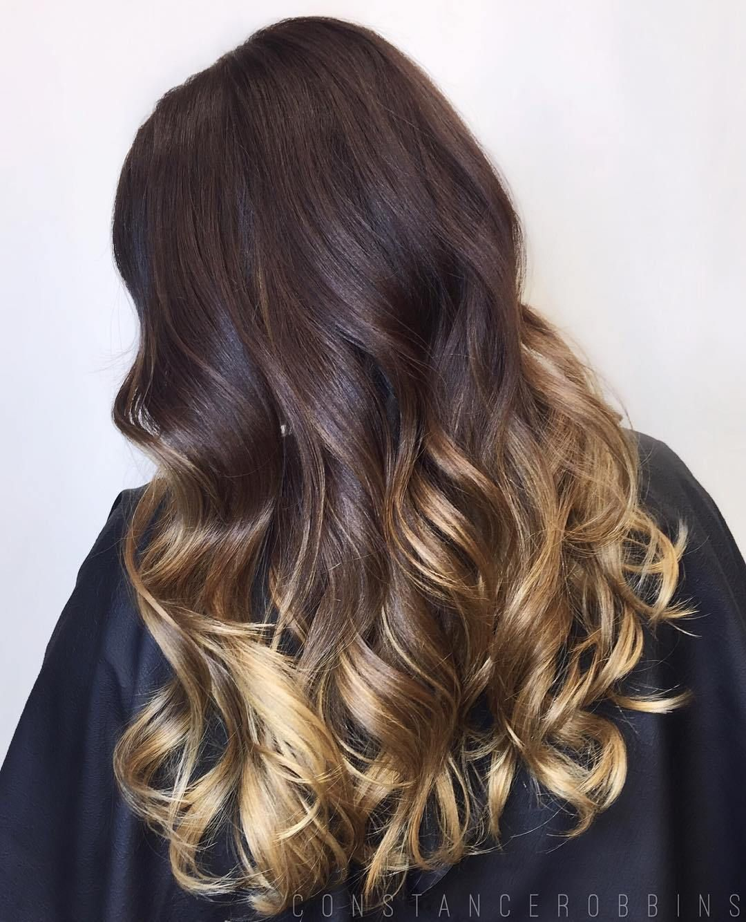 60 best ombre hair color ideas for blond brown red and black hair beauty hair makeup and - Ombre braun blond ...