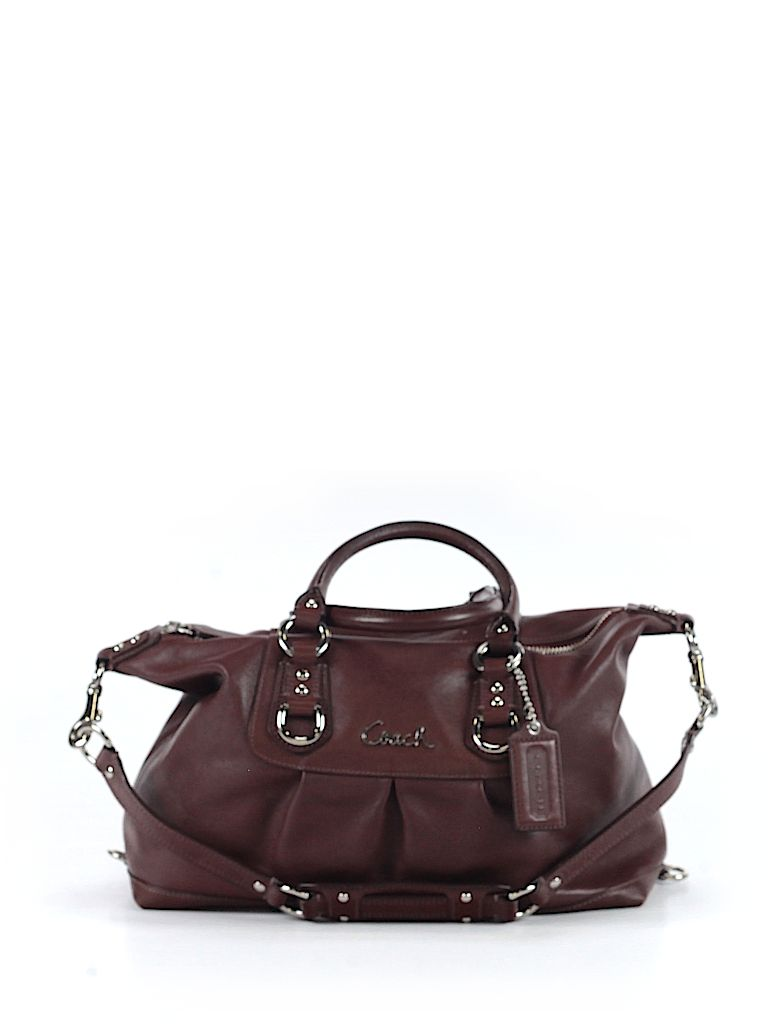 Check it out—Coach Factory Satchel for $100.99 at thredUP!