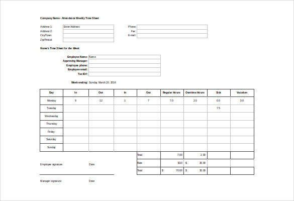 14+ Job Sheet Templates Printable Word, Excel  PDF - job sheet templates
