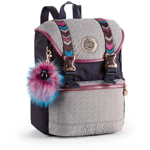 6934d7e5f Kipling Experience Small Backpack (365 BRL) ❤ liked on Polyvore featuring  bags, backpacks, bags & luggage handbags, coin pocket wallet, pocket  wallet, ...