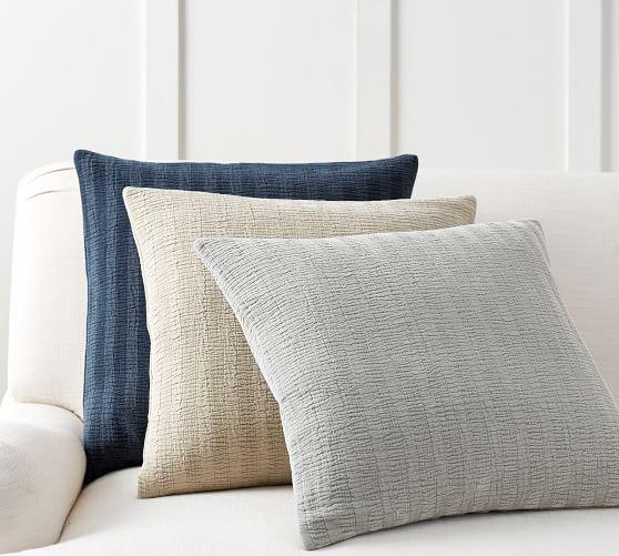 chenille textured stripe pillow cover in 2018 throw pillows rh pinterest com