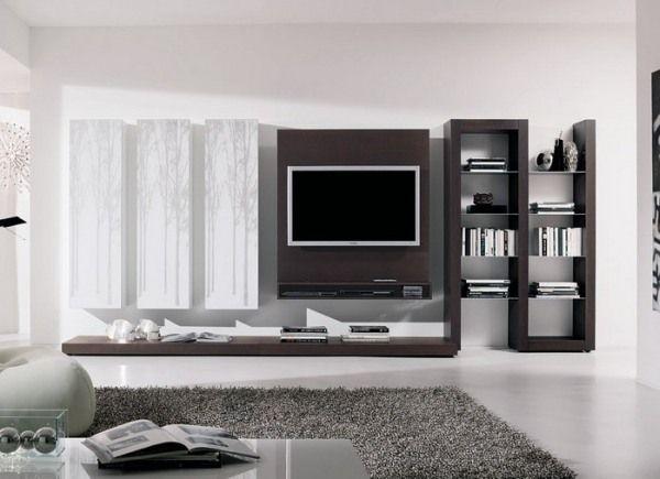 20 Idées Comment Intégrer Le Meuble Télé Dans Le Salon