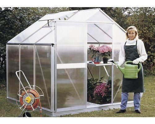 gew chshaus orania 6 5 m 4 mm doppelstegplatten greenhouse pinterest gew chshaus kaufen. Black Bedroom Furniture Sets. Home Design Ideas