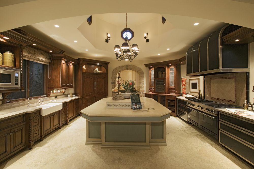 40 Inviting Contemporary Custom Kitchen Designs u0026