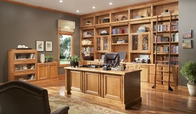 Cabinets And Hardware Merillat Masterpiece Office Cabinetry