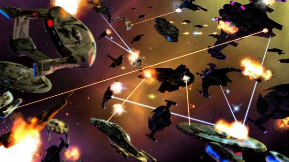 Dominion War Star Trek Starbases Spacedocks Starships And