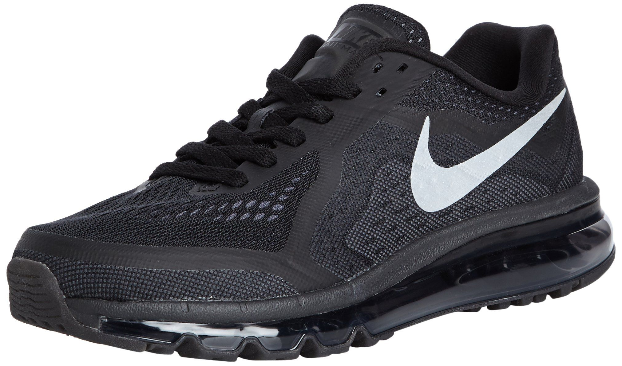 online store 6529d c713a Nike Air Max 2014 Men Sneaker Black Anthracite Dark Grey Reflect Silver  621077-001 (10 D(M) US)