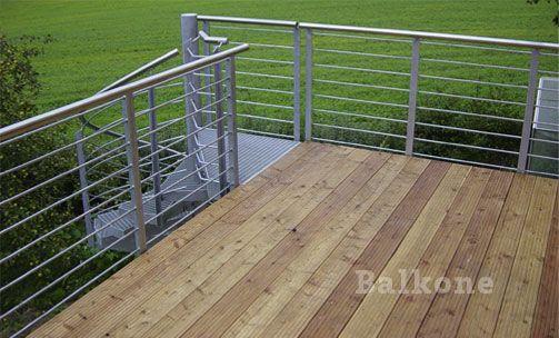 Balkone Balkon aus Stahl Pinterest Balkon, Schwabach und - renovierung der holzterrasse