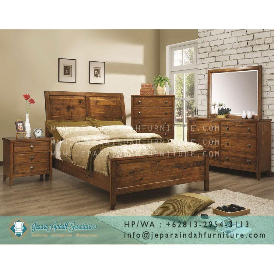 Set kamar tidur minimalis nancy merupakan perabot