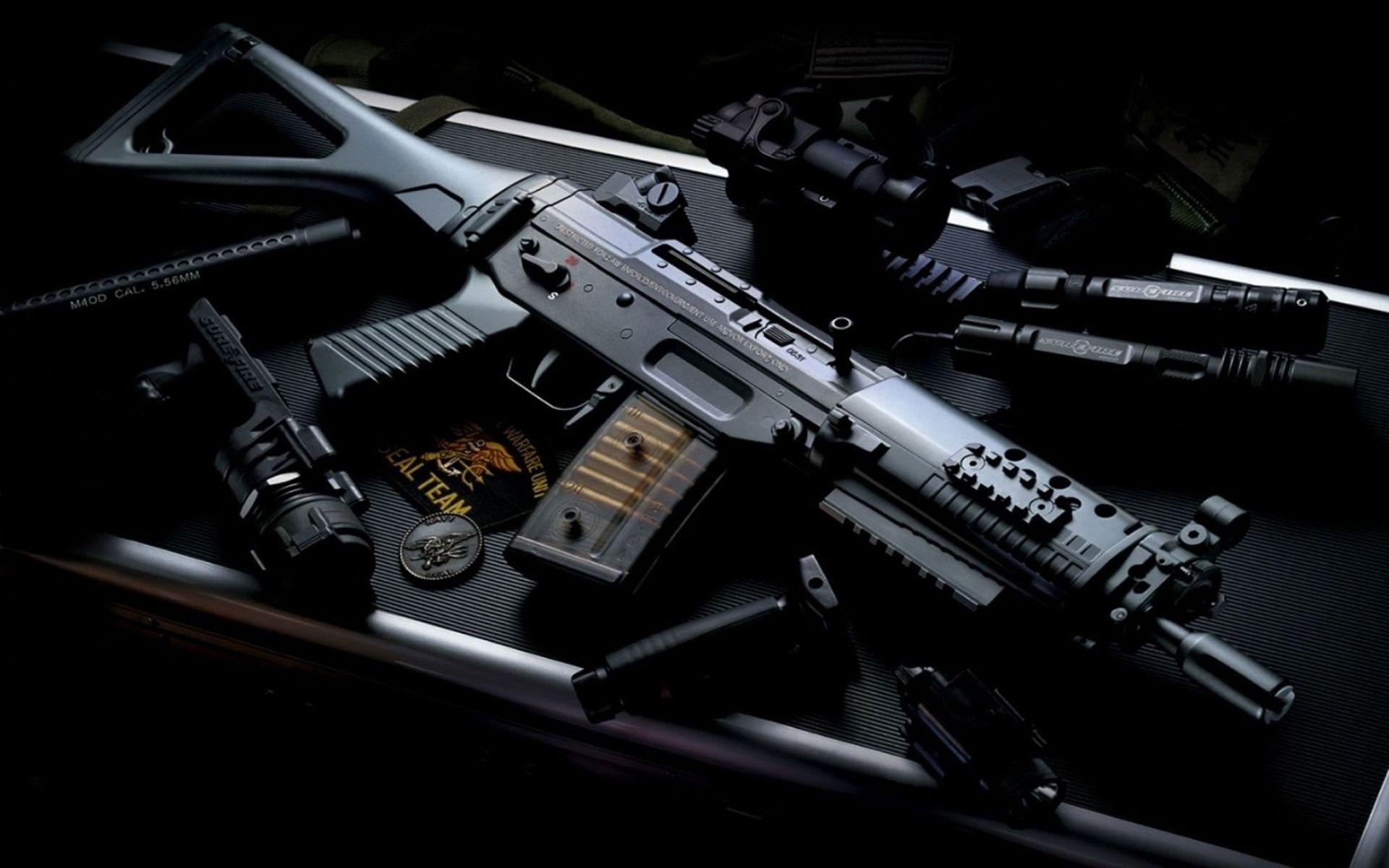 Armas Fuzil De Assalto Sig 556 5.56 Ak74 Papel de Parede ...