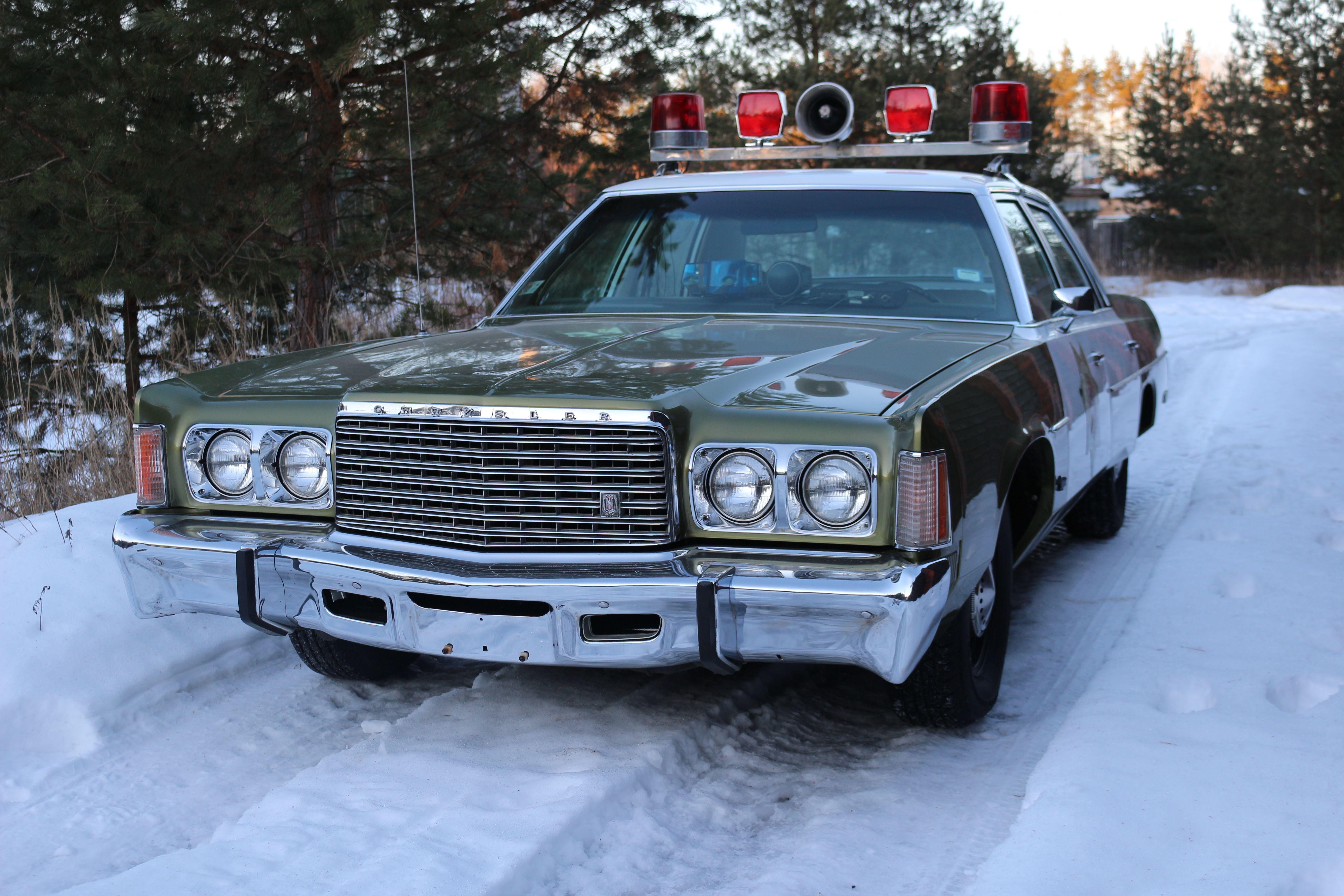 My 1975 Chrysler Newport Florida Sheriff tribute