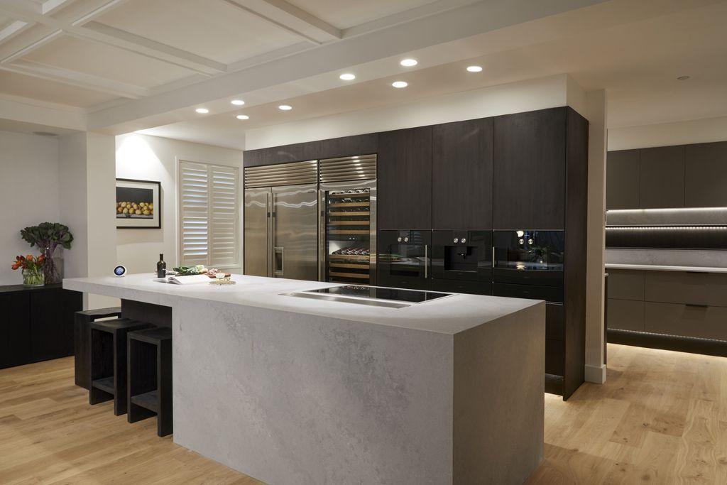 kitchen inspiration from the block 2018 reveals sleek black luxury rh pinterest es